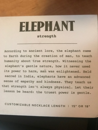 box 7 elephant meaning